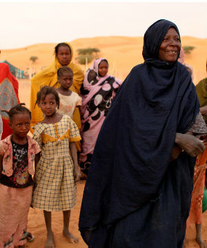 In Mauritania, a country which straddles both black and Arab Africa, slavery is a historical practice. Slavery here primarily takes the form of chattel slavery, whereby adult slaves and their children are the property of their masters.