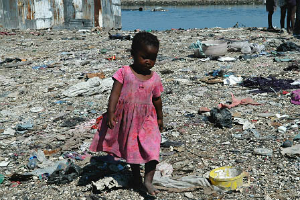 Haiti remains impoverished two years after a massive earthquake devastated the country.