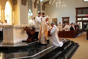 The historic ordination of Fr Randy Sly, former Archbishop of the Charismatic Episcopal Church, to the Catholic priesthood