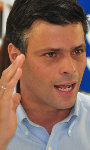 Leopoldo López's party, Popular Will, has accused the Maduro government of being responsible for violence during the protests.