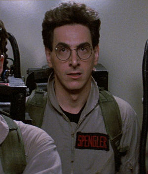 Knowing he could never compete with friend and fellow comedian John Belushi in terms of sheer zaniness, Harold Ramis usually played the subdued egghead in his classic comedies, such as 'Ghostbusters.'