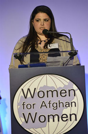 Manizha Naderi, executive director of Women for Afghan Women says that the withdrawal of foreign troops will leave isolated Afghan women to fend for themselves.