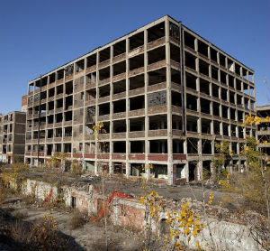 Under Detroit's bankruptcy plan, some funds must be devoted to demolishing abandoned city properties.