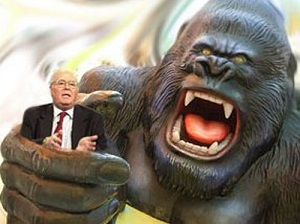 Bill Donohue and King Kong