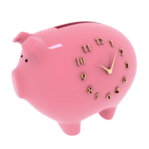 In a time bank, time is the money.