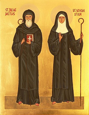 Benedict and Scholastica, brother and sister in both the natural and the supernatural order, invite us to learn the way of prayer.