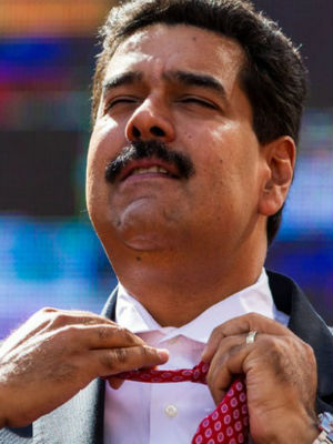 Venezuelan President Nicolas Maduro, hot under the collar, is looking to strengthen ties to the U.S. after run-ins with journalists and diplomats.