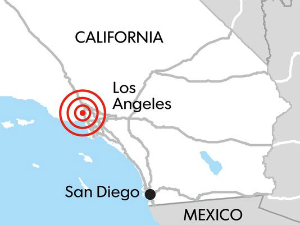 The Westwood quake, felt at 6:25 this morning, was detected by an early warning system in Pasadena.