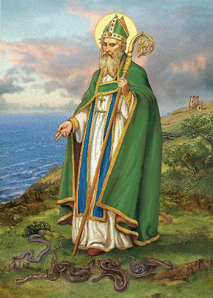 Saint Patrick not the first to bring Christianity to Ireland, but it is Patrick who is said to have encountered the Druids at Tara and abolished their pagan rites.