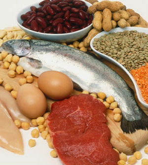 Researchers remind others that chicken, fish, pulses, vegetables, nuts and grain are healthier sources of protein.