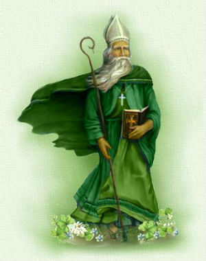 Saint Patrick used the three-leaf clover to spread the message of the Father, the Son and the Holy Ghost.