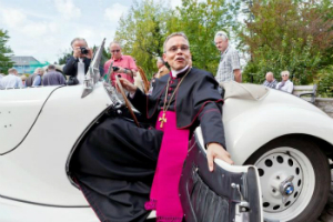 It's game over for the Bishop of Bling. What happens next?