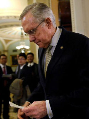 Senate Majority Leader Harry Reid (D-Nev.) says he will reimburse his campaign more than $16,000. Questions had been posed about holiday gifts purchased from a company owned by his granddaughter.