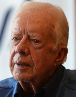 Former U.S. President Jimmy Carter in the interview suggested that the long, uneasy silence between him and Barack Obama may have to do with their differing views on how to best achieve peace in the Middle East.