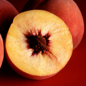 'You need to eat the whole fruit to get its full benefits, not just the juice, to get the fiber,' nutritionist Ian Marber says. 'Variety is very important but there is certainly no bad side to eating three peaches a day.'