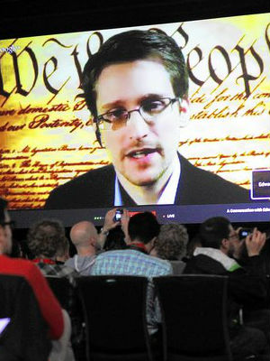 Edward Snowden has granted a handful interviews to the media since his revelations made global headlines and led to his seeking asylum in Russia. The occasion marked one of his first live appearances before a general audience.