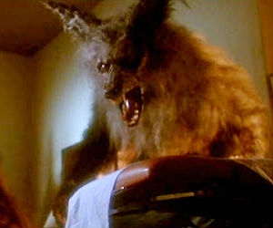 In The Howling, a husband and wife discover that members of a sinister New Age retreat are secretly werewolves!