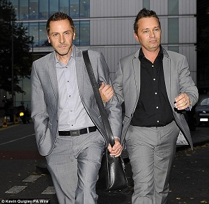 Barrie Drewitt-Barlow and his civil union partner Tony are self professing homosexuals. They have been joined together in a civil partnership since 2006. They have five children which they obtained by renting wombs and then using reproductive technology. That is because they are incapable of having children when they engage in sexual activity with one another.