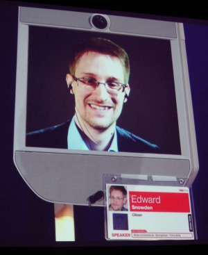 With a grim smile, Edward Snowden at the conference said that 'There are absolutely more revelations to come' and that 'some of the most important reporting to be done is yet to come.'