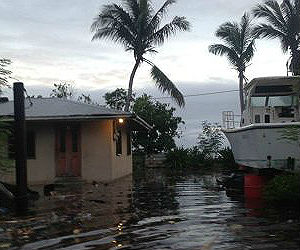 Small-island states and other places highly vulnerable to sea-level rise face major challenges to their territorial integrity.