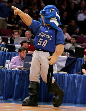 Seton Hall has upset Butler and Villanova as the Big East conference tournament advances into the third round.
