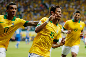 Brazil's team will square off against Croatia for the opening match of the World Cup in Brazil on June 12.