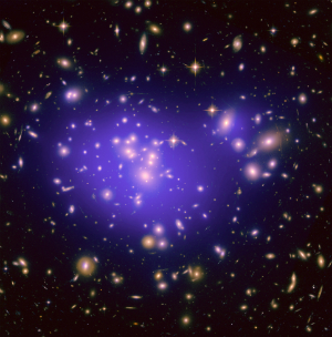 Galaxy clusters such as these should be more common throughout the universe than they are.