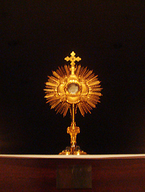 Even the most holy people we can think of have found blessings, grace, and strength in Eucharistic Adoration.