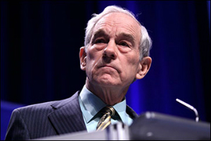 Ron Paul suggested his group will fight the IRS if they attempt to enforce a fine against Campaign for Liberty.