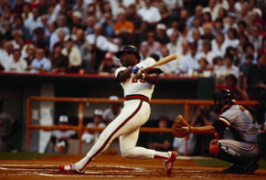 Don Baylor played for the Anaheim Angels from 1978-82, and is now their hitting coach.