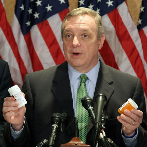 Senator Dick Durbin in response has said, 'Is that all this Church is about, is one issue? For bishops to announce that they are going to penalize Catholics on certain votes I think is . reaching too far.'
