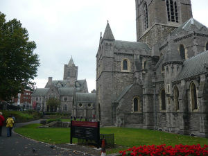 Christ Church Cathedral has endured numerous construction, rebuilding, and renovations since its founding. However it remains in its original founding spot.