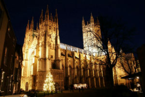 The Canterbury Cathedral is one of the oldest Christian sites in England, and home to the leader of the Church of England.