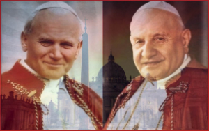 The Vatican has issued prayer cards with the official prayers for Saints John Paul II and John XXIII.