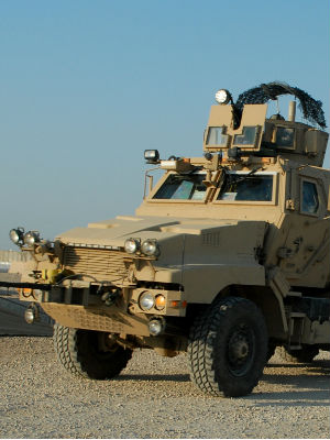 Most agree that the expensive MRAP, intended for desert military duty, would have little practical application in Midwest America.