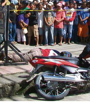 Rogelio Estrada Butalid was killed in front of his workplace in Tagum City in Davao del Norte province on Wednesday morning. The studio, Radyo Natin, was where he hosted 'The Truth' show.