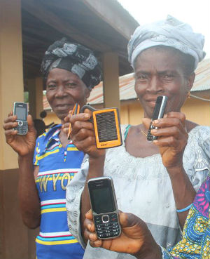 A mobile phone in Sierra Leone is a status symbol -- that for teenage girls, comes at a very steep price.