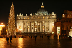 Saint Peter's Square was designed more than 400 years ago, and includes a four-thousand-year-old Egyptian Obelisk.