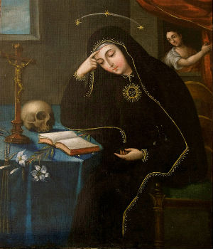 St. Mariana of Jesus de Paredes lived in the early colonial period in Ecuador and gained great holiness by a sacrificial and charitable life.