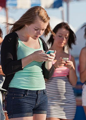 If your teenager prefers texting over talking -- it may be time for an intervention.