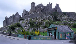 The Rock of Cashel houses a great blend of pagan Celtic and Christian history and mythology.