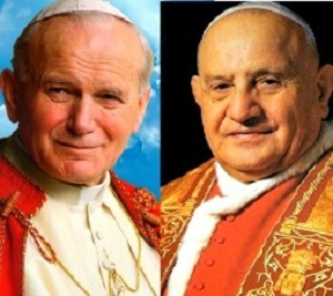 Saints John Paul II and John XXIII