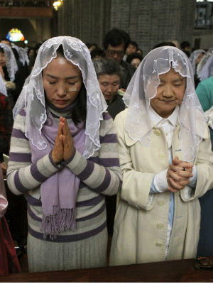 It's estimated that there were about 4.8 million Catholics that were not included in its survey because they were in countries that could not provide an accurate report to the Vatican, mainly China and North Korea.