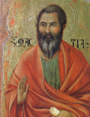 St. Matthias was welcomed in from the outside. We are invited to do the same for others.