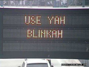 These signs, located around Boston, poke fun of the areas distinct accent.