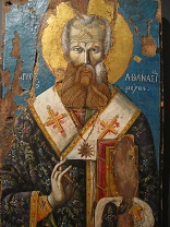 Image of St. Athanasius, Bishop and Doctor of the Incarnation