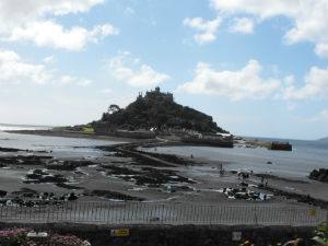 St. Michael's Mount is located on an area that is supposedly part of a mythical kingdom that was destroyed by the sea.