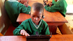 Kids enjoy using tablet computers for learning and are greatly enriched by its expanded capabilities.