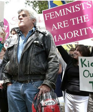 Former Tonight Show host Jay Leno joined the protests against the current ownership of the iconic Beverly Hills Hotel.