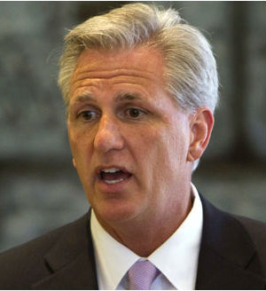Kevin McCarthy's only opponent was conservative Rep. Raul Labrador, R-Idaho, who refused to back Boehner at the beginning of the 113th Congress and mounted a long-shot candidacy at the last minute.